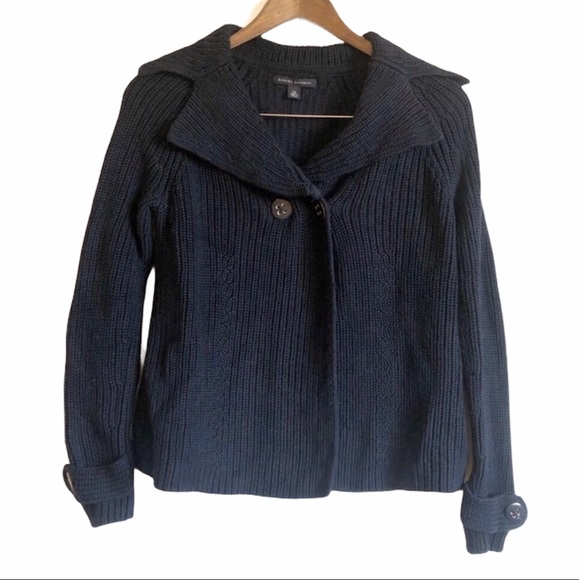 *3/$25* BANANA REPUBLIC Knit Sweater Cardigan Blue